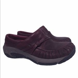 Merrell Encore Red Wine Slip On Shoes